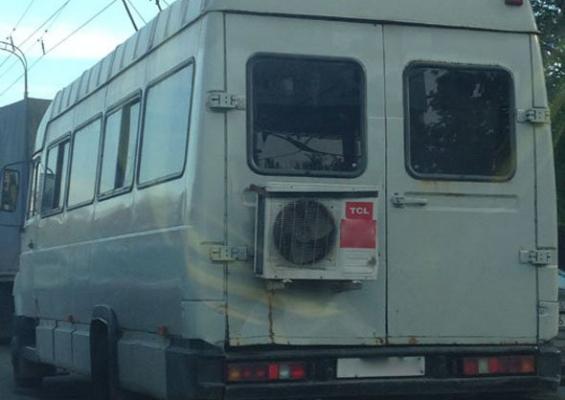 Автобус со сплит-системой