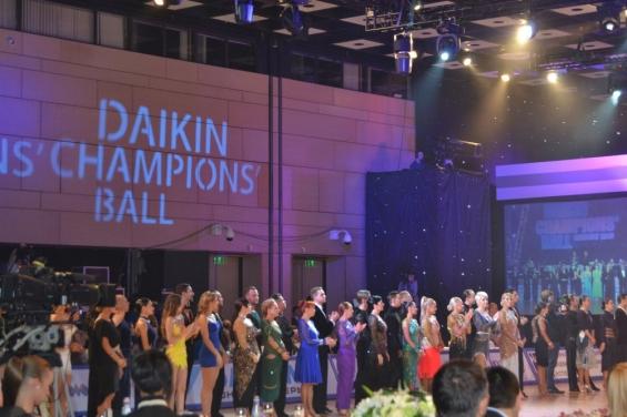 Приветственный парад на DAIKIN CHAMPIONS BALL