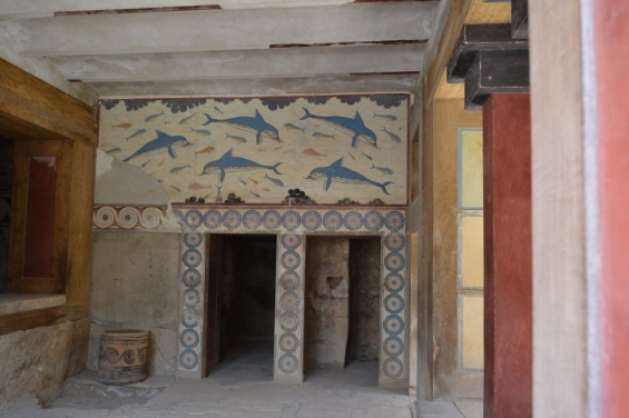 Интерьер Кносского дворца