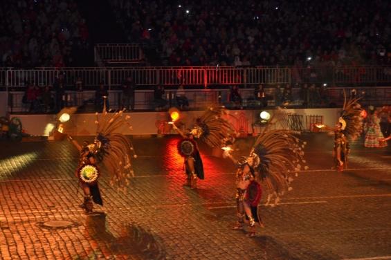 Мексиканцы не обошлись без грозных индейцев