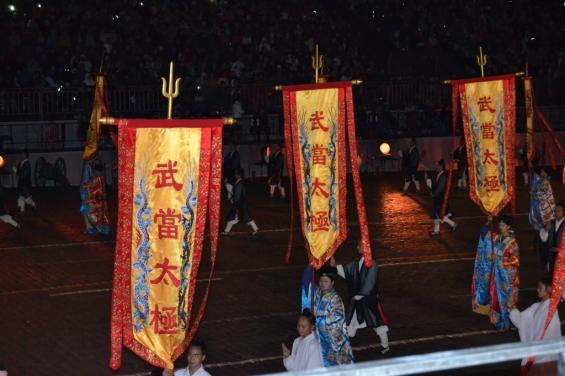 Красивые танцы боевых монахов