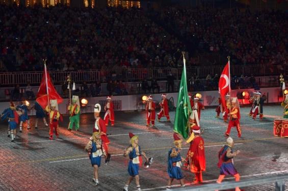 Турецкое войско на Красной площади