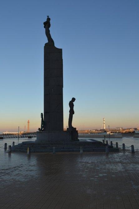памятник в Остенде