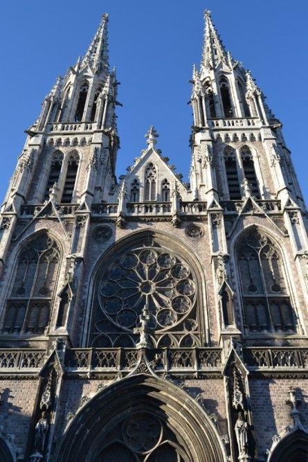 вид на собор Остенде