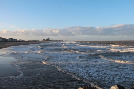 Северное море в Остенде