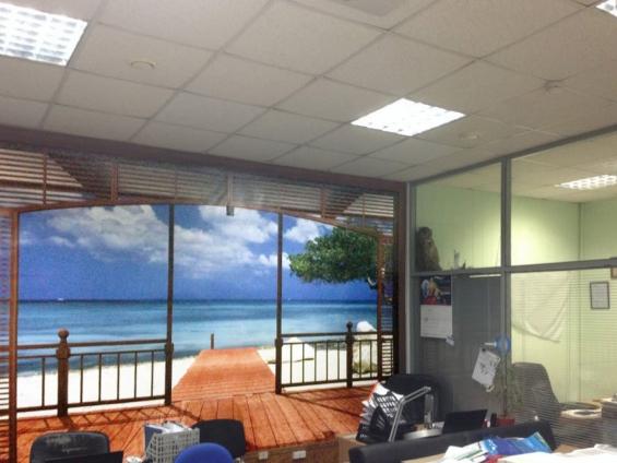 Наш офис с видом на море!!!
