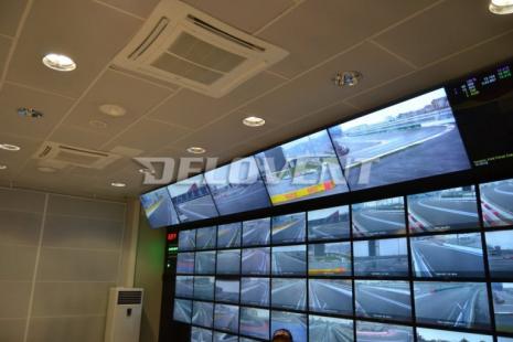 экраны управления гонками